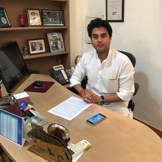 Madhya Pradesh: BJP MLA's son arrested for threatening to kill Congress MP Jyotiraditya Scindia