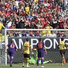 Pre-season friendlies: Manchester United held by San Jose Earthquakes, Pulisic brace sinks Liverpool