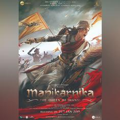 See Kangana Ranaut as the Rani of Jhansi in 'Manikarnika' poster