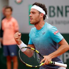 Marco Cecchinato stuns Novak Djokovic in epic four-setter to reach French Open semi-final