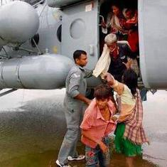 Arunachal Pradesh: IAF rescue 30 people stranded on island in Siang river, says chief minister