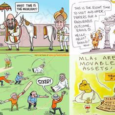 'Karnataka MLAs are movable assets': Cartoonists see the humourous side of state's hung verdict