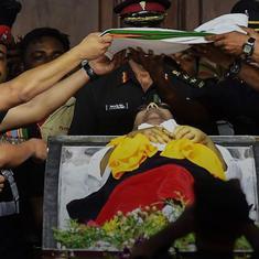 Your Morning Fix: Following high drama, Kalaignar Karunanidhi laid to rest at the Marina
