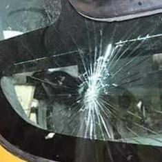 Madhya Pradesh: Stones hurled at Shivraj Singh Chouhan's vehicle in Churhat, CM escapes unhurt