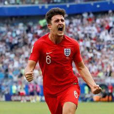 Harry Maguire: From watching England from the stands at Euro 2016 to defensive rock at the World Cup