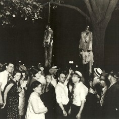 Three photographs, six bodies: The politics of lynching in twos