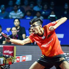 Table tennis: Manav, Ayhika power Mavericks to 5-2 win over Challengers
