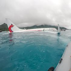Micronesia: Airline changes statement after plane crashes into Pacific, says one passenger missing