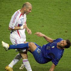 Fifa World Cup moments: Marco Materazzi provokes, Zinedine Zidane loses his head