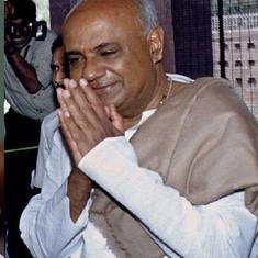 HD Deve Gowda advises Congress to treat regional parties well with General Elections in mind