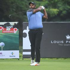 Louis Philippe Cup golf: Udayan Mane and Miguel Carballo share the lead after round one