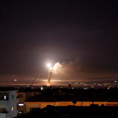 At least 23 killed after Israel launches missile strikes on Syria, says human rights monitor