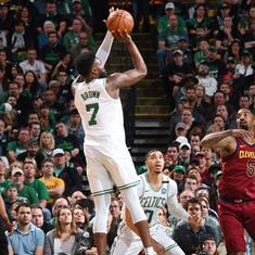LeBron James not panicking as Cleveland Cavaliers lose 108-83 to Boston Celtics