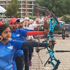Archery World Cup: India women's compound team wins silver; Abhishek and Jyoti bag mixed team bronze