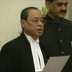 जस्टिस रंजन गोगोई देश के 46वें मुख्य न्यायाधीश बने