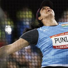 Asian Games: India's Seema Punia bags discus bronze with a season best throw