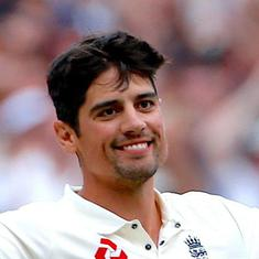 Sir Alastair Cook: Former captain becomes first English cricketer to be knighted since Ian Botham