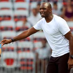 Ligue Un: Patrick Vieira loses first game in charge of Nice