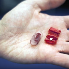 Watch: the tiny robot you must eat so that it can unfold itself and get to work in your stomach