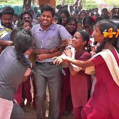 Sight of students weeping at transfer of TN teacher tells us what's wrong with education in India