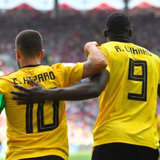 World Cup: Deadly Hazard and Lukaku batter Tunisia as Belgium make statement with rout