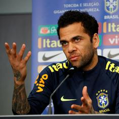 Brazil captain Dani Alves signs for boyhood club Sao Paulo after PSG exit