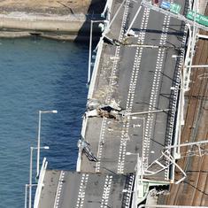 Japan: Typhoon Jebi kills 11, boats take stranded passengers out of Kansai airport