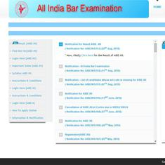 AIBE XII 2018 results declared, download AIBE results at allindiabarexamination.com