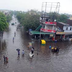 Gujarat: Four people killed as heavy rain leads to flooding