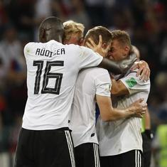 Fifa World Cup: Pulsating victory but Germany's tactics were a let-down for the second straight game