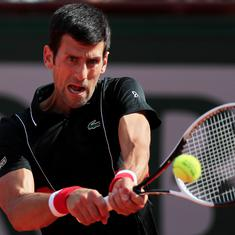 Cincinnati Masters: Djokovic overcomes stomach problem and Mannarino, Zverev knocked out
