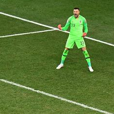 World Cup: Subasic the hero as Croatia edge past Denmark in dramatic round of 16 shootout