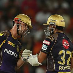 Sunrisers' middle order woes, the Lynn-Narine carnage sees KKR book play-off berth