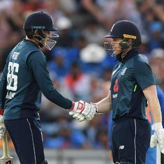 इंग्लैंड ने भारत को तीसरे एकदिवसीय मैच में हराकर 2-1 से सीरीज़ अपने नाम की