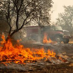 California wildfire claims six lives as blaze continues to spread