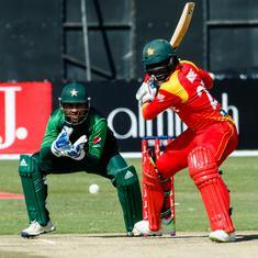 Solomon Mire's effort goes in vain as Pakistan knock Zimbabwe out of T20I tri-series