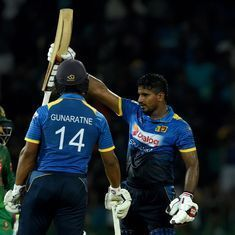 Kusal Perera's 77 takes Sri Lanka to comfortable 6-wicket win over Bangladesh in first T20I