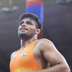 Wrestling: Sajan Bhanwal defeated in semi-finals of U-23 World C'ships, in contention for bronze