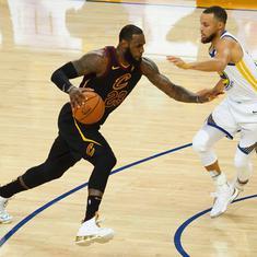 NBA Finals: Defending champions Warriors beat Cavaliers 124-114 in opener