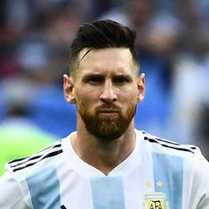 Football: Lionel Messi to miss Morocco friendly after picking up groin injury on Argentina return