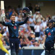 England smash world record for highest men's ODI score with stunning 481 against Australia