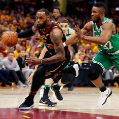Eastern Conference finals: Cleveland Cavaliers pound Boston Celtics 116-86 in game three