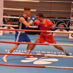 Chemistry Cup boxing: Amit Panghal, Gaurav Solanki win quarter-final bouts, assure medals