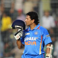 Data check: How Sachin Tendulkar, the opener, changed ODI cricket forever