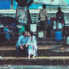 This photo of a Bangladeshi couple kissing in rain went viral – and got the photographer assaulted