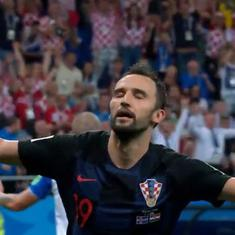 Fifa World Cup – as it happened: Ivan Perisic slams winner for Croatia to send Iceland out