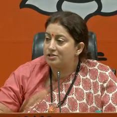 Sonia Gandhi led a government that attacked the very core of banking system, says Smriti Irani