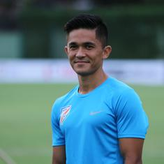 'I feel privileged to share the dressing room with Chhetri bhai,' says winger Udanta Singh