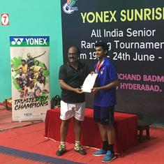 Badminton: Siril Varma, Ashmita Chaliha enter Asian Games selection mix with Hyderabad tourney win