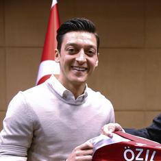 'The most beautiful goal against the virus of fascism': Turkey hails Ozil after Germany snub